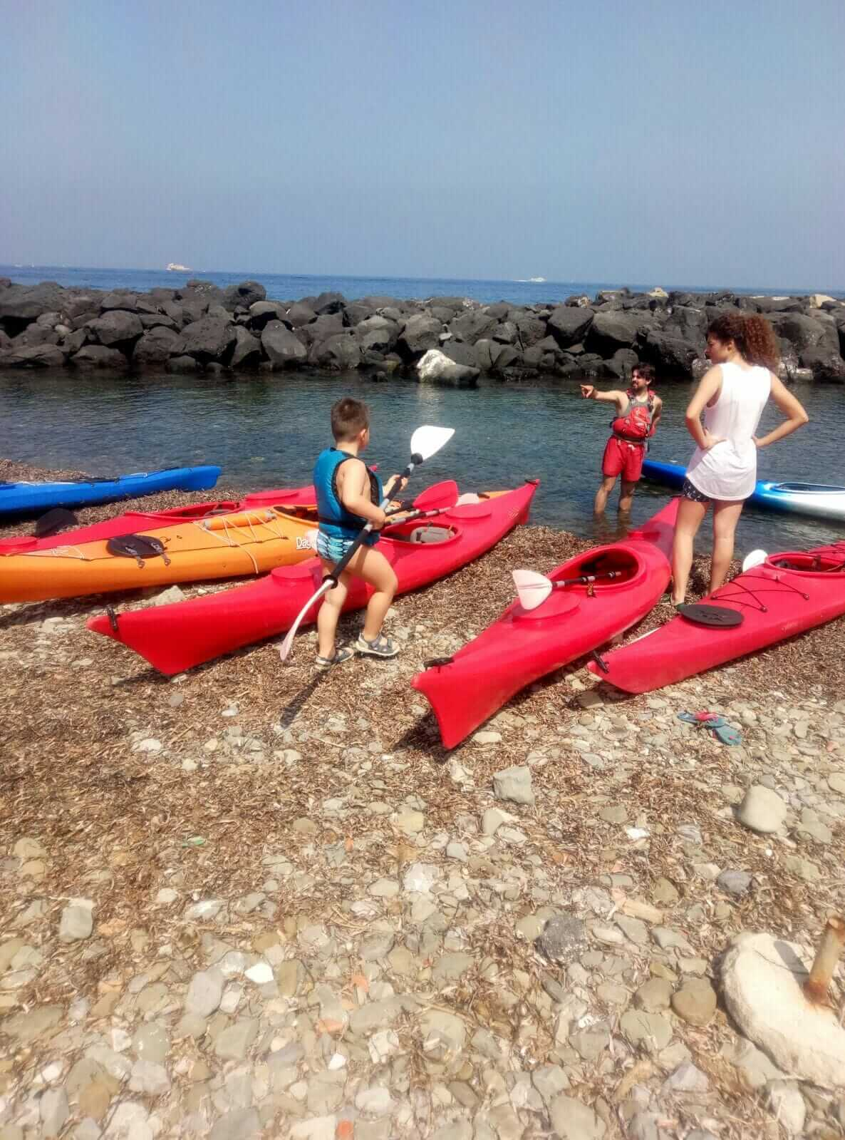 massa lubrense, sorrento, amalfi, mare, kayak