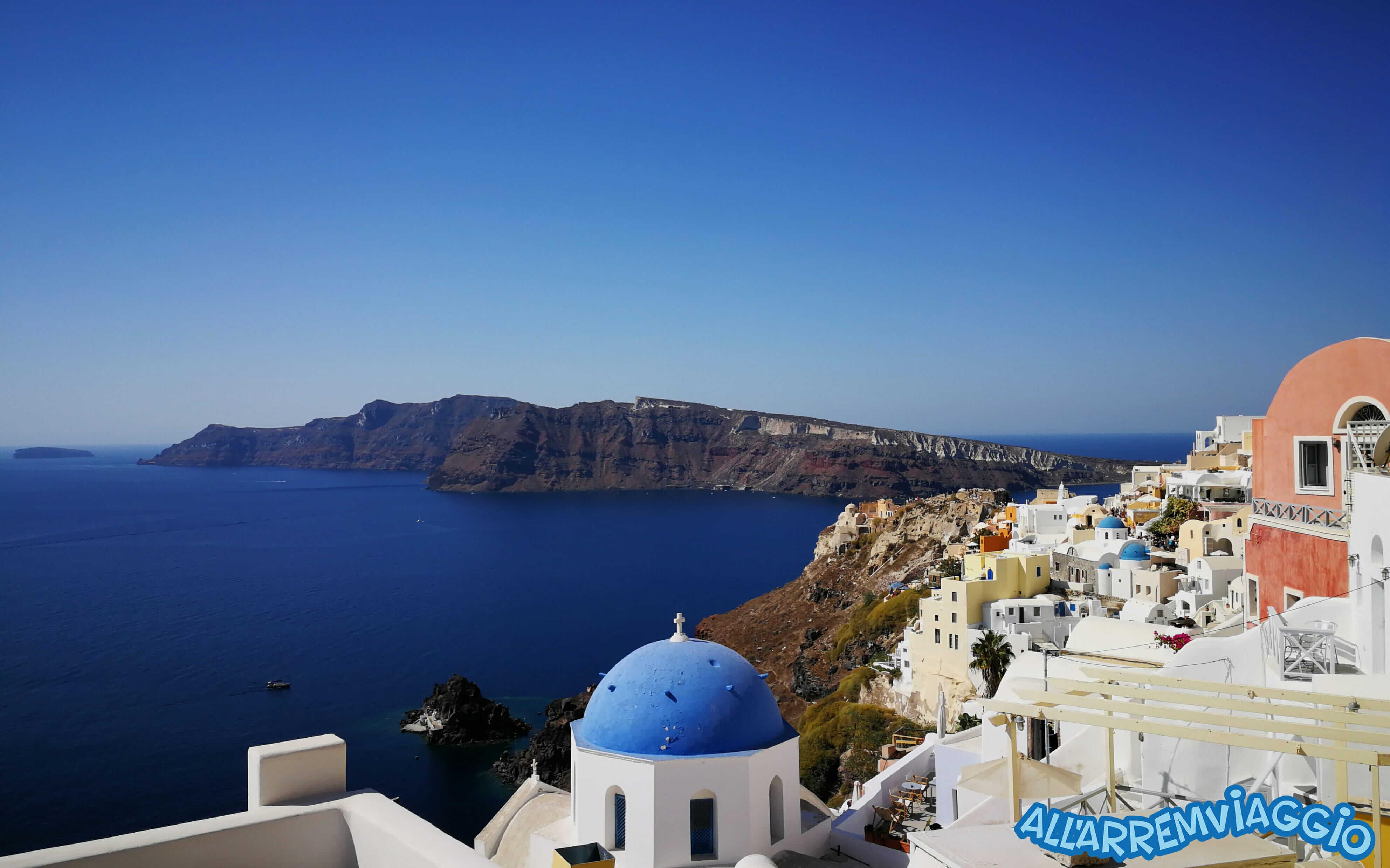 Quanto si spende a Santorini | All\'Arremviaggio