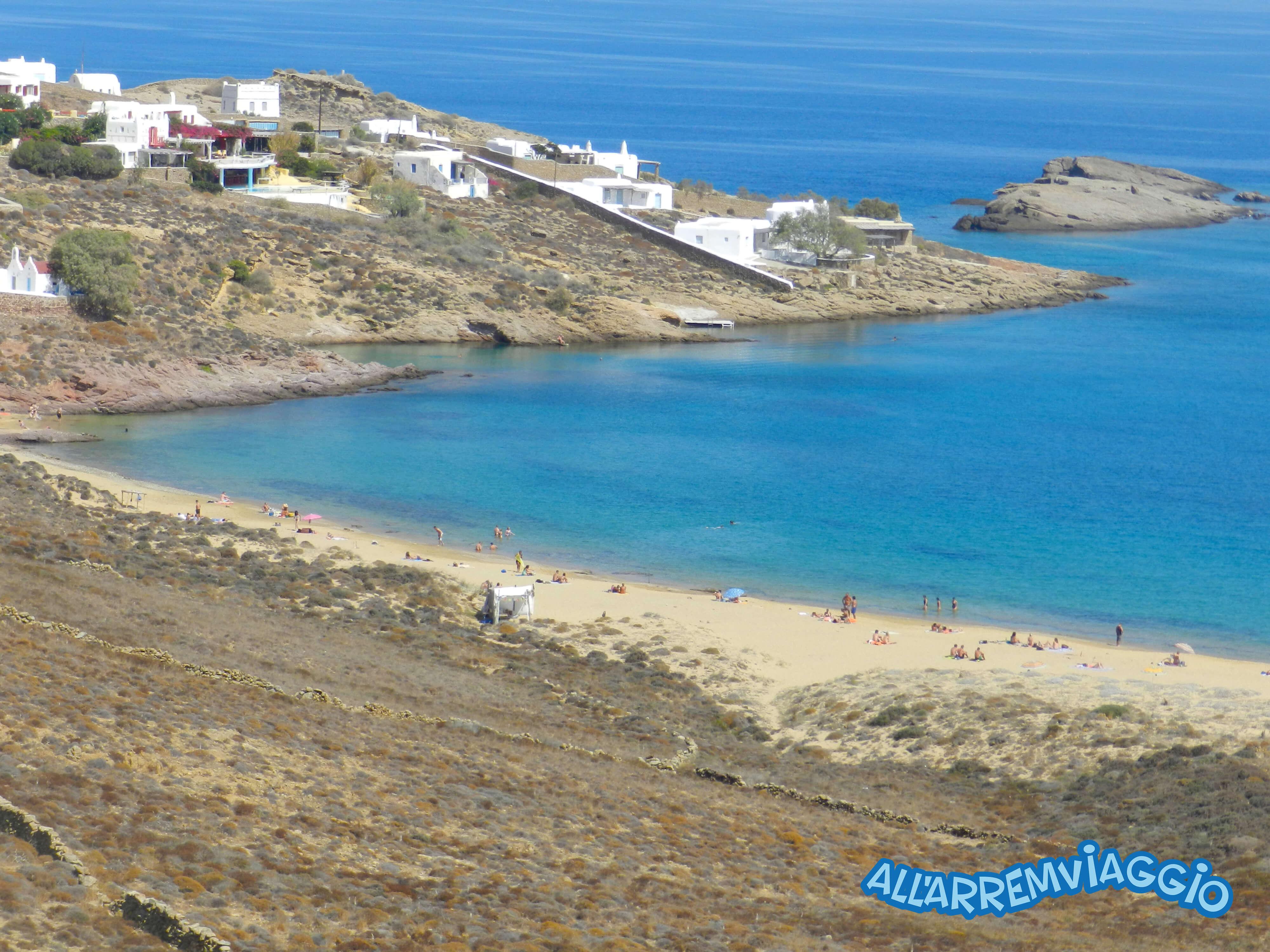 spiagge, imperdibili, mykonos, cicladi, grecia, mare, spiaggedasogno, Agiossostis