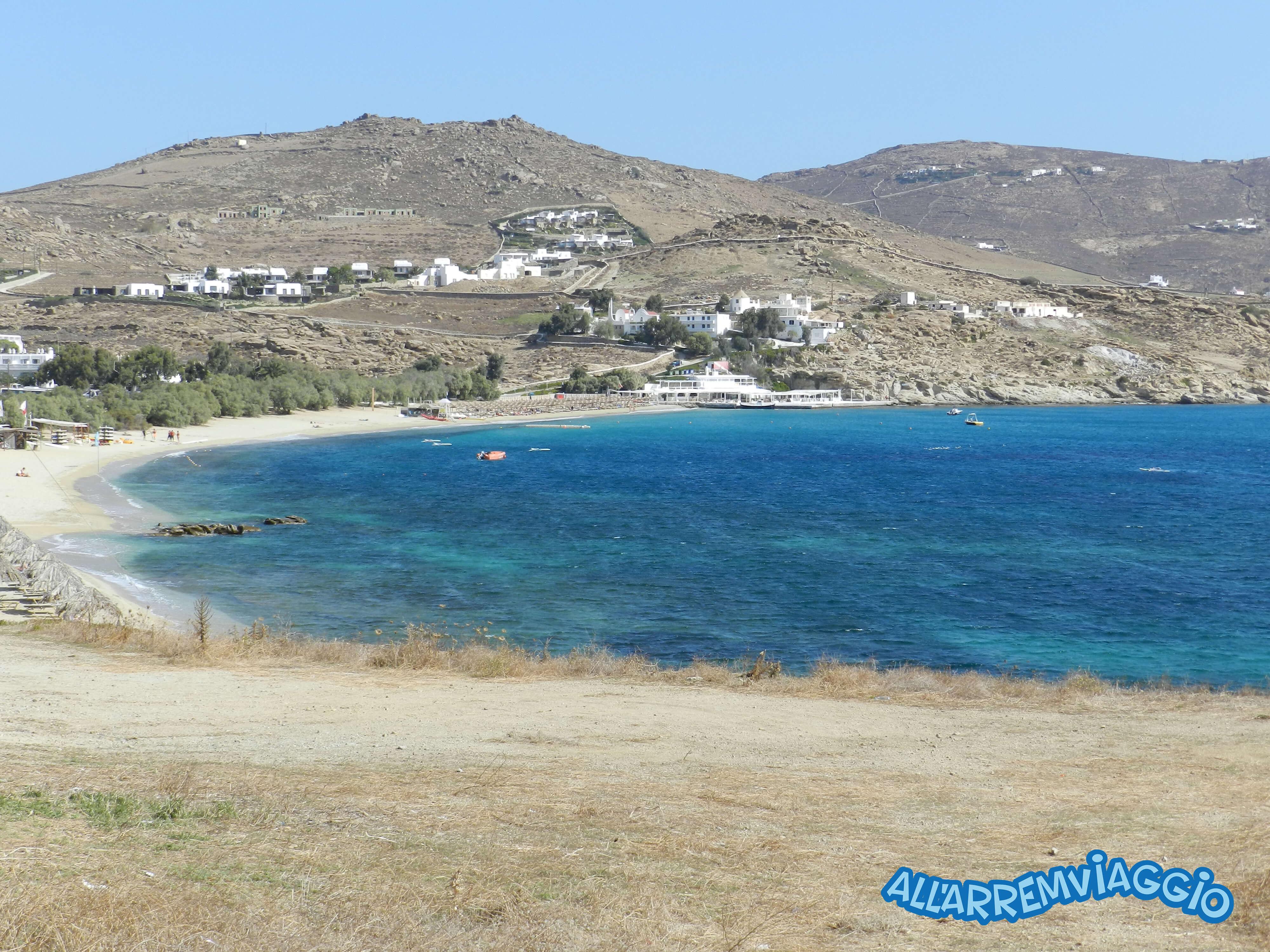 spiagge, imperdibili, mykonos, cicladi, grecia, mare, spiaggedasogno, fokos, le più, belle, spiagge, di, Mykonos