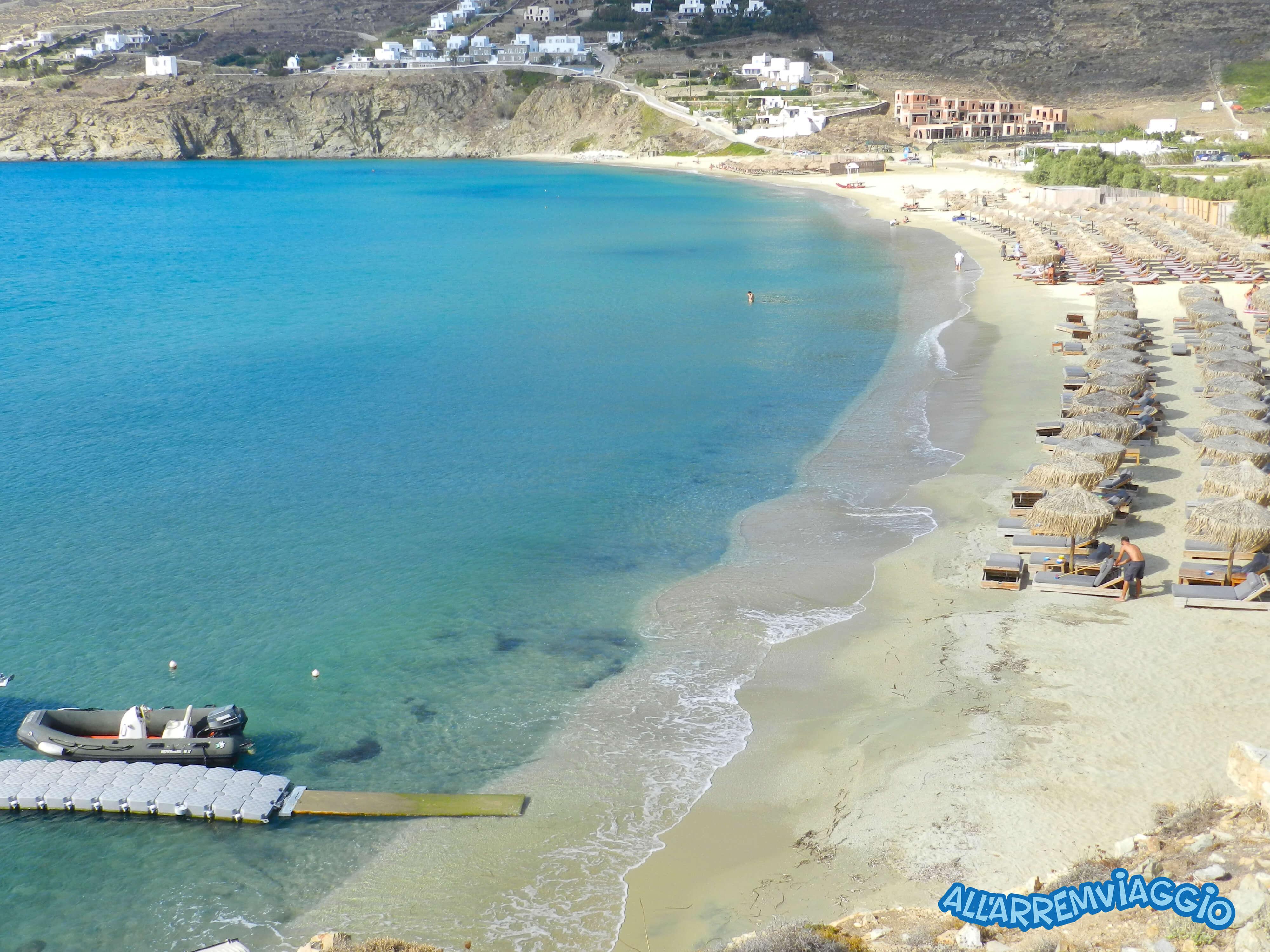 spiagge, imperdibili, mykonos, cicladi, grecia, mare, spiaggedasogno, Kalolivadi