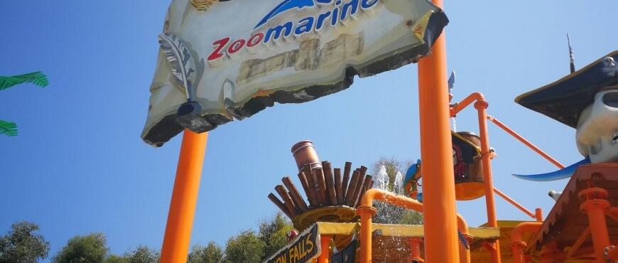 zoomarine, delfini, foche, leonimarini, viaggiare, bambini, allarremviaggio, pirati, covo, piscine, scivoli