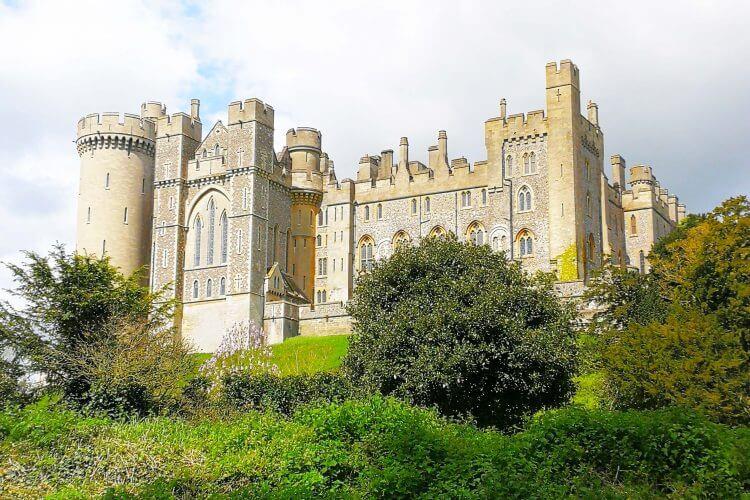 allarremviaggio, viaggiare, con, bambini, arundel, castello, castle, inghilterra, del, sud, britain