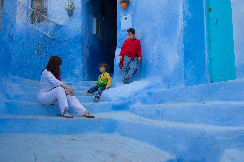 allarremviaggio_viaggiare_con_bambini_chefchaouen_marocco
