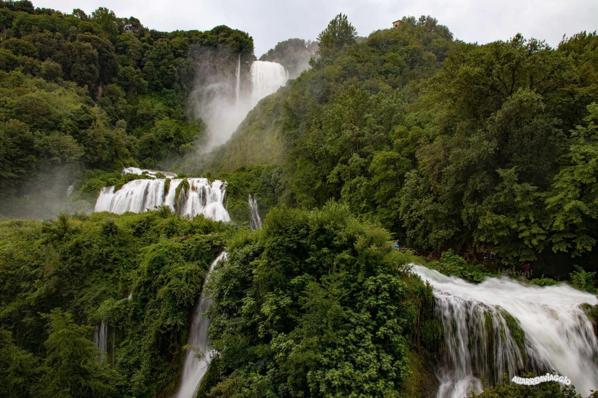 cascata delle marmore belvedere inferiore
