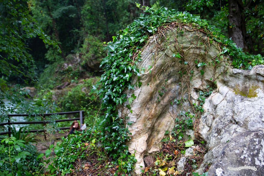 orecchio giunone roccia cascata delle marmore