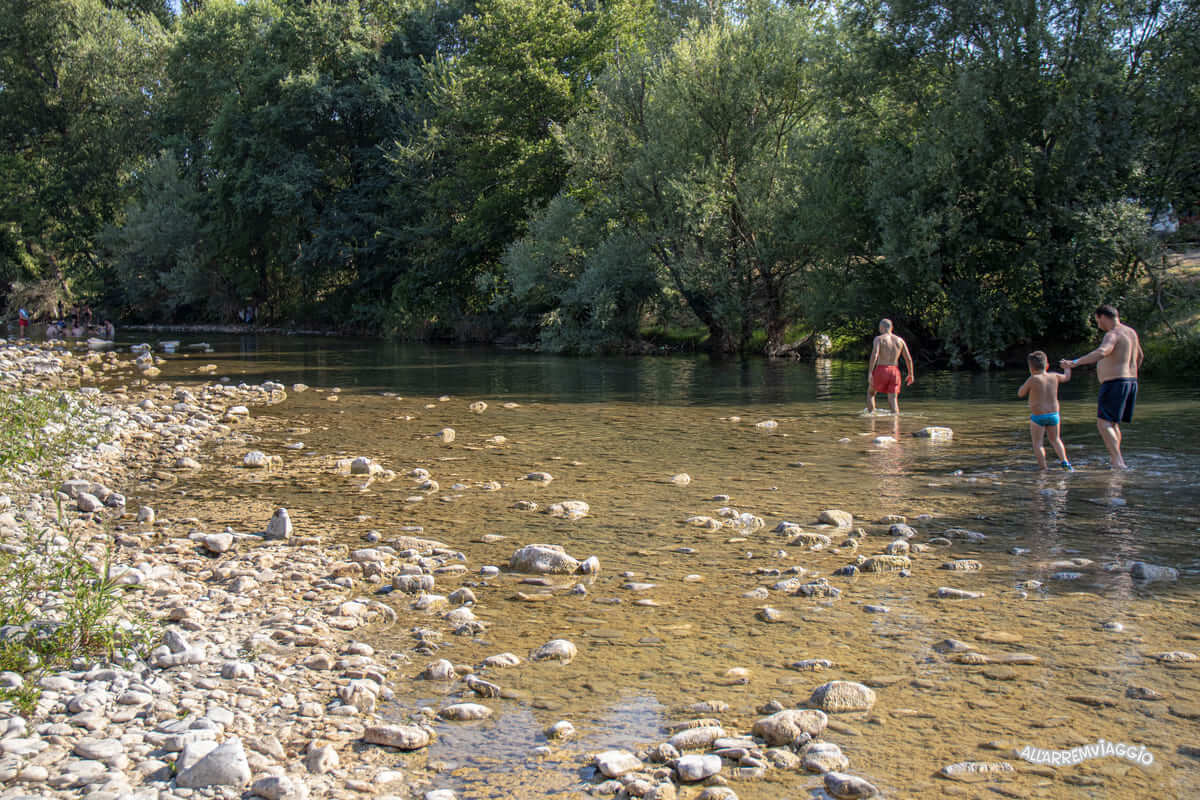 fiume calore cilento