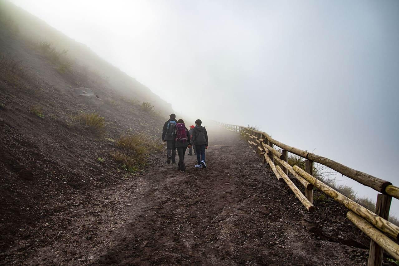 sentiero numero cinque vesuvio