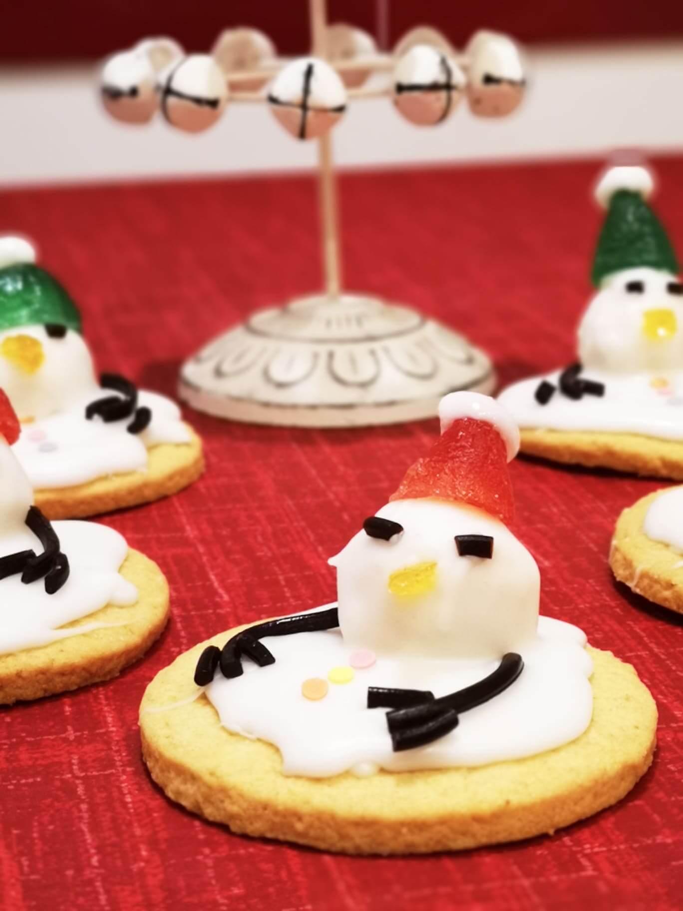 biscotti di natale omini di neve