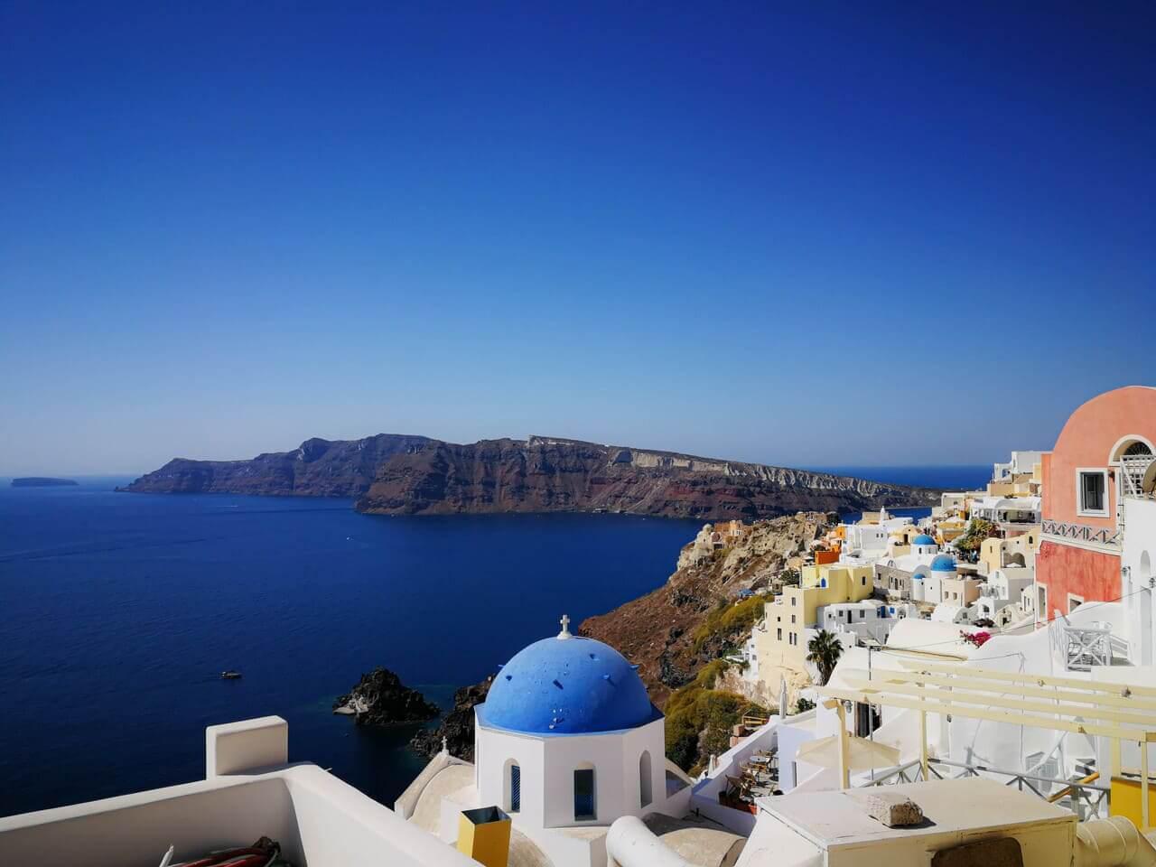 isole greche santorini imerovigli