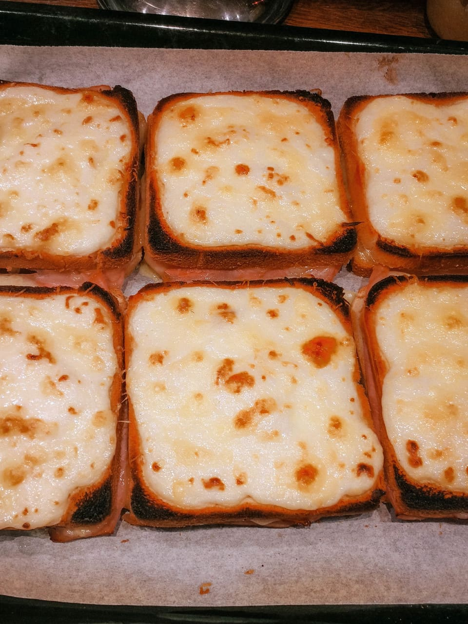 croque monsieur al forno
