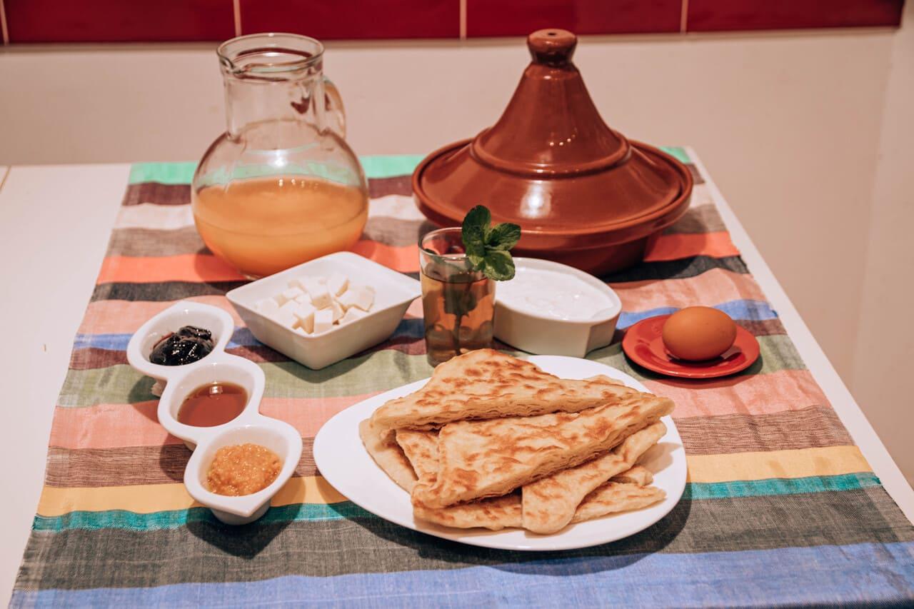 ricetta dei msemen marocchini