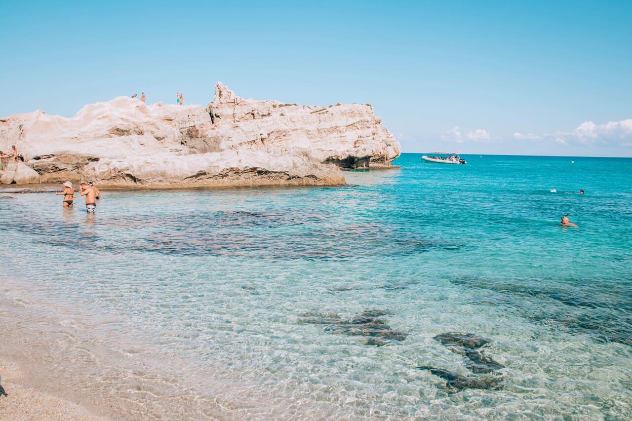 spiagge della calabria adatte ai bambini baia di riaci