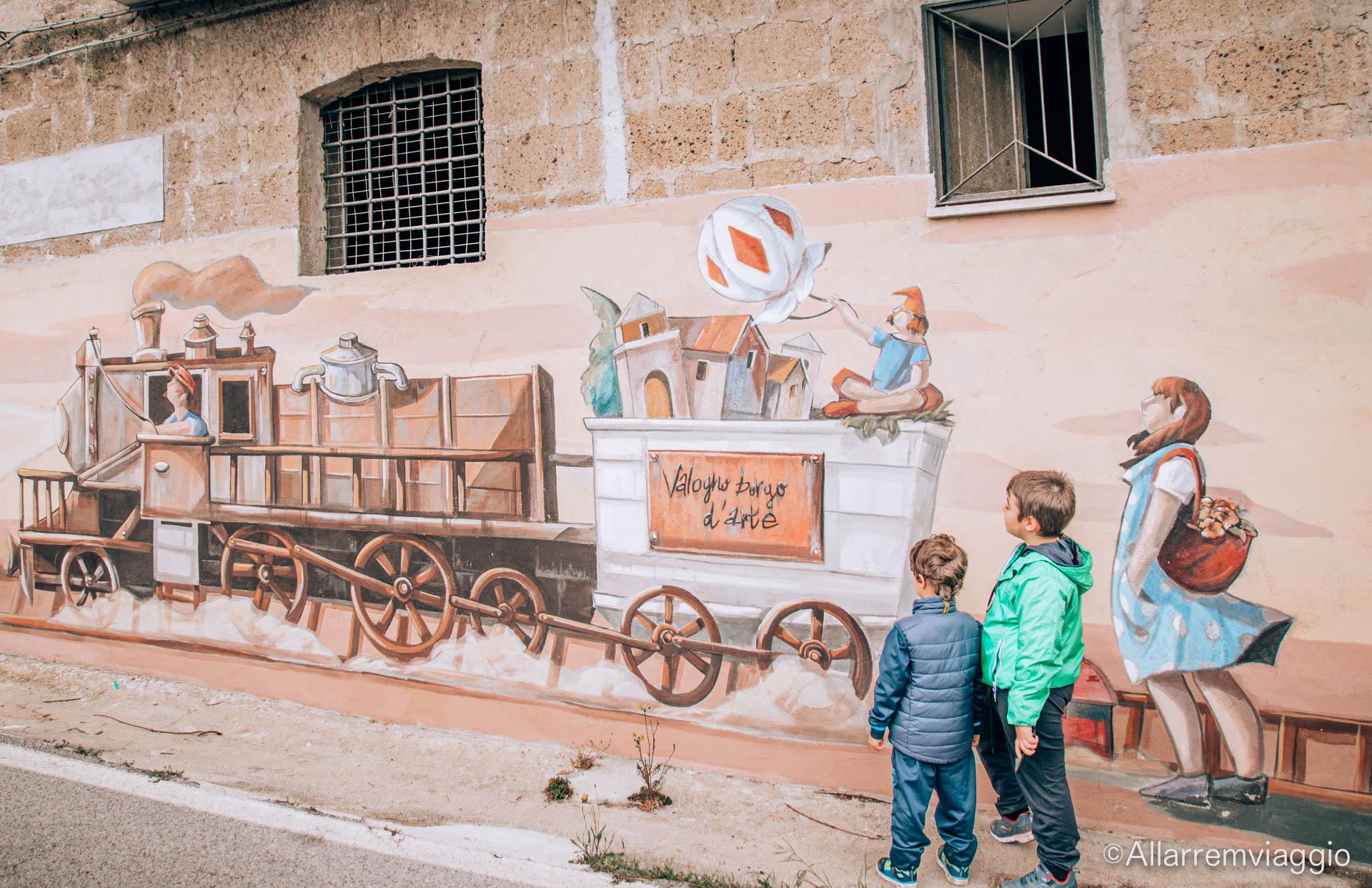 muralesl ocomotiva valogno campania