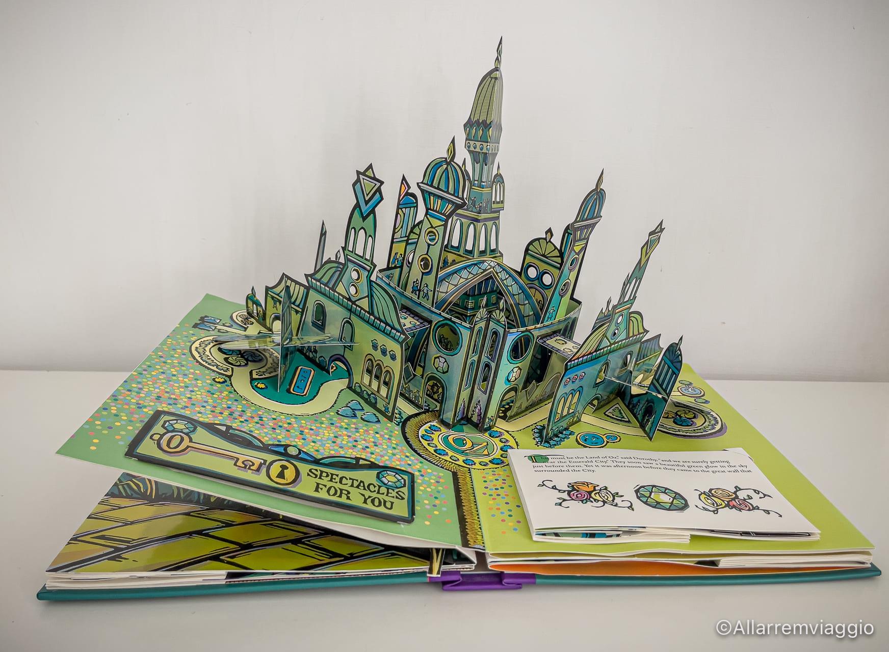 castello di smeraldo mago di oz robert sabauda