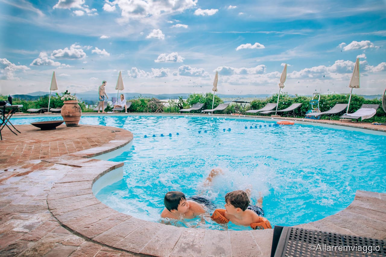 piscina per bambini ecoresort il cantico della natura