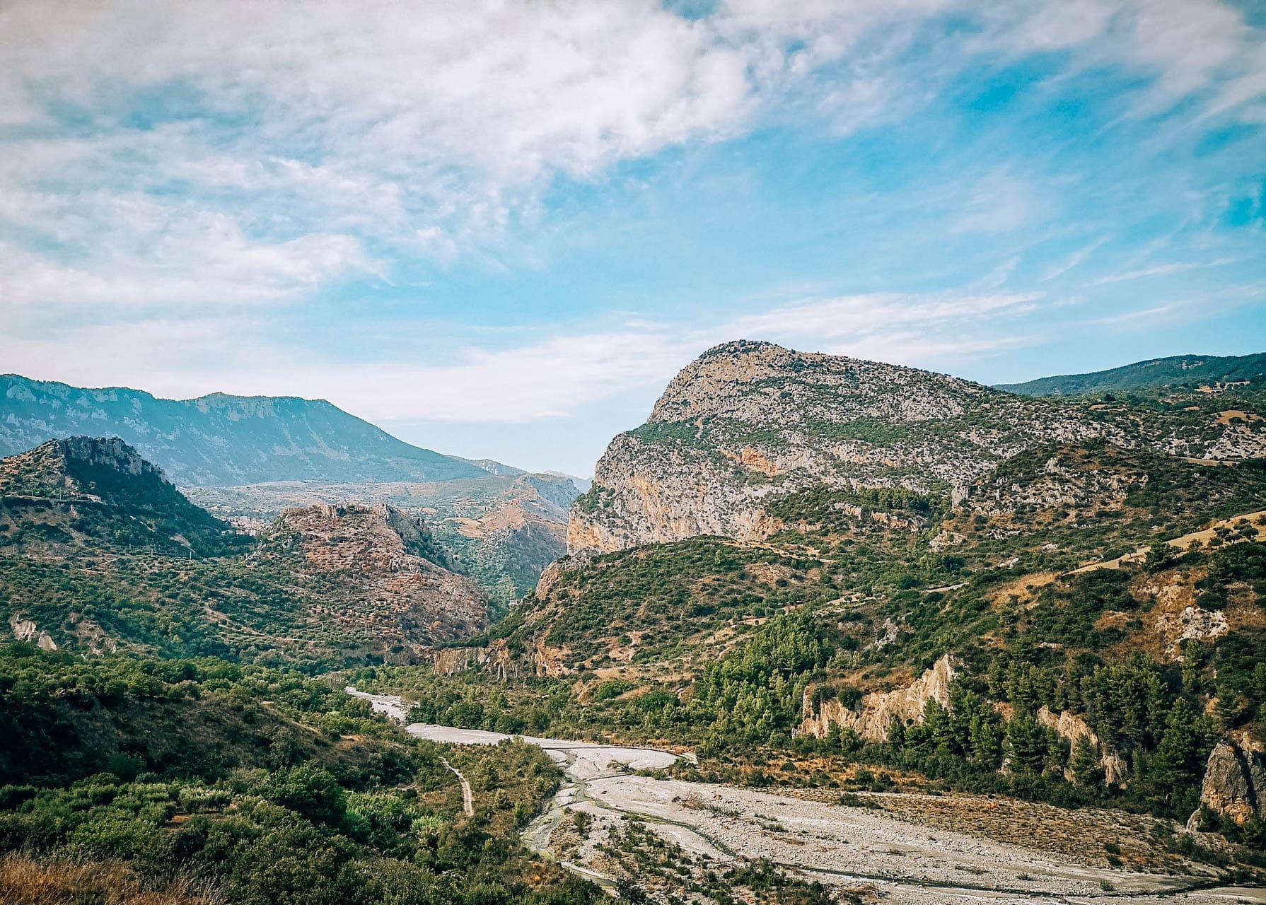 canyon parco nazionale del pollino