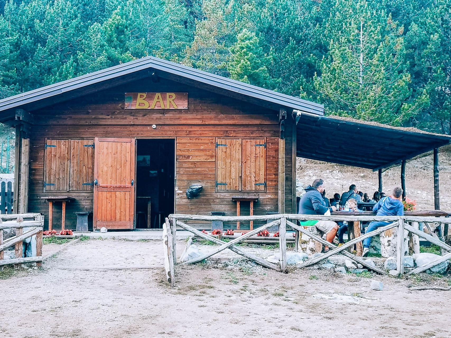 rifugio piano ruggio parco nazionale del pollino