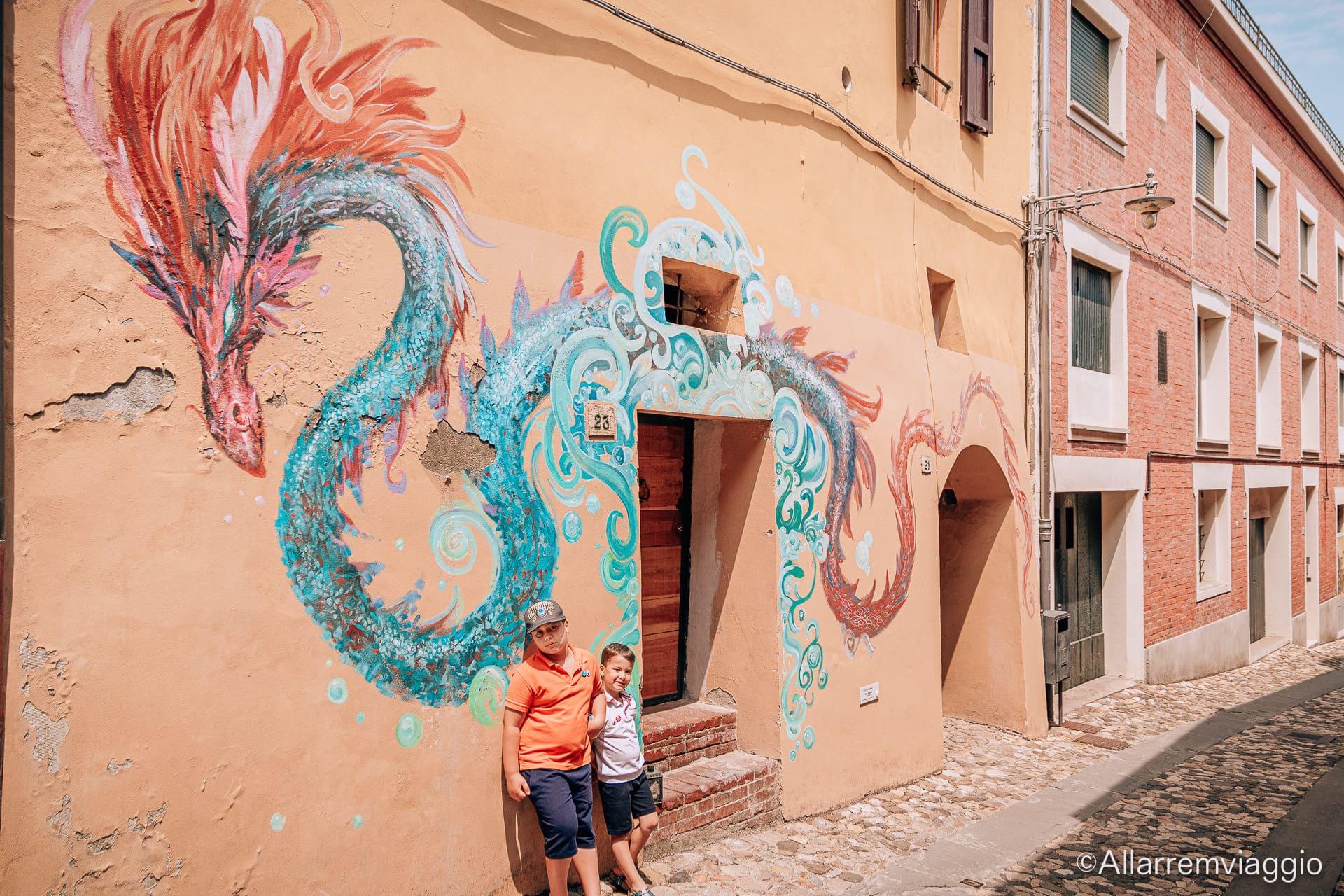 dozza murales romagna