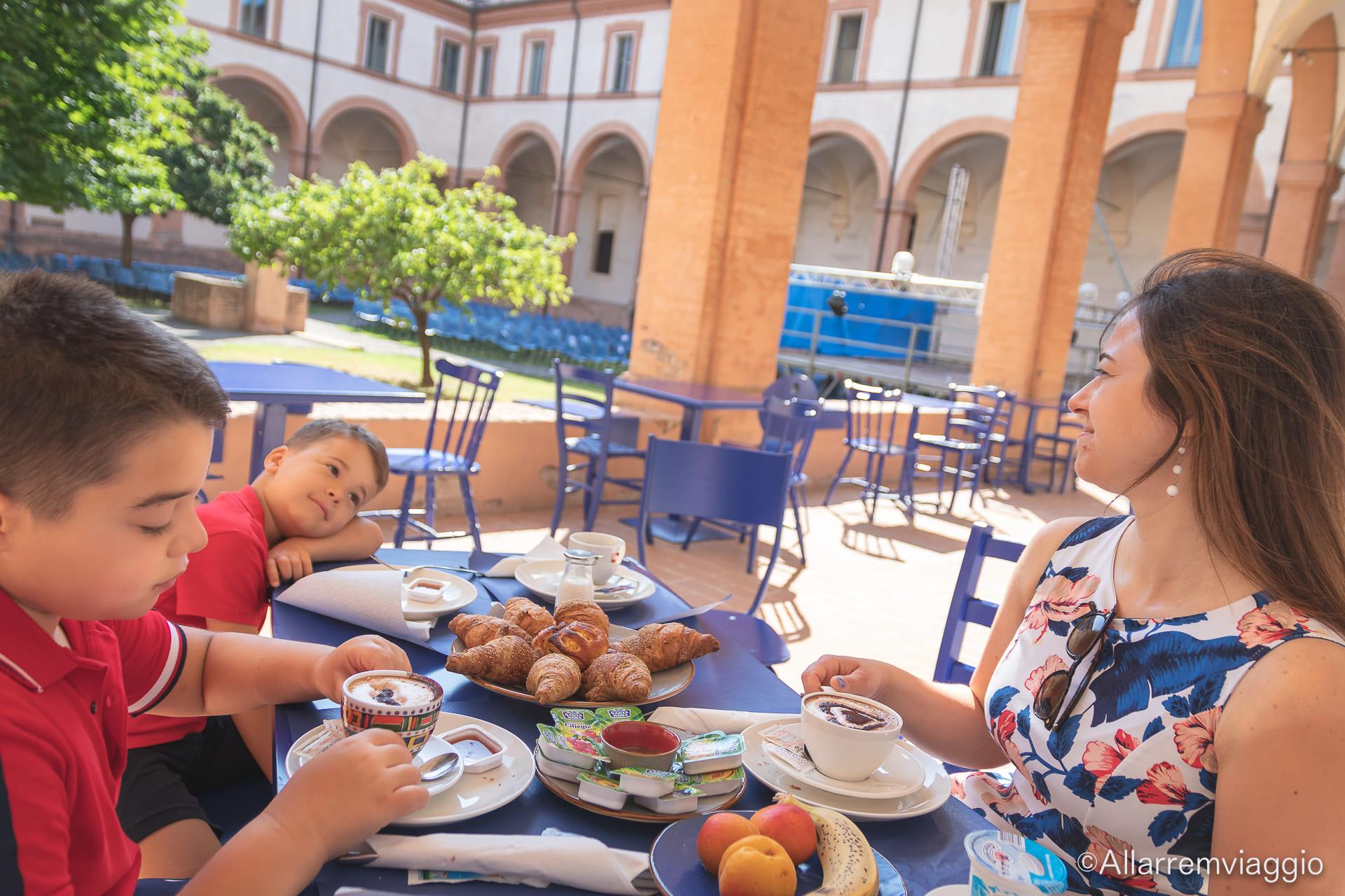 colazione antico convento san francesco bagnacavallo