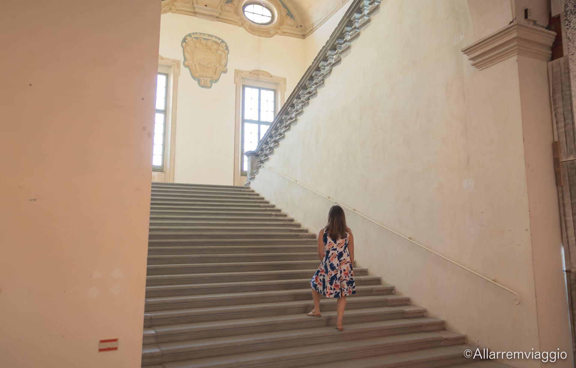 scale antiche del convento san francesco a bagnacavallo
