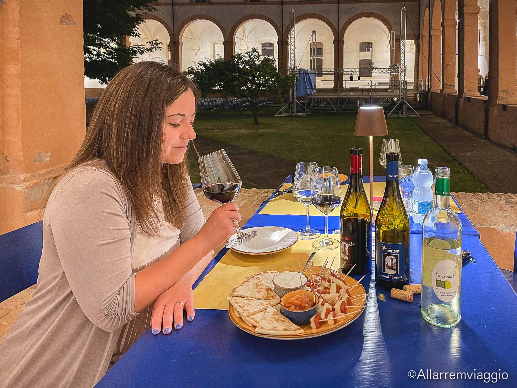 degustazione burson antico convento san francesco