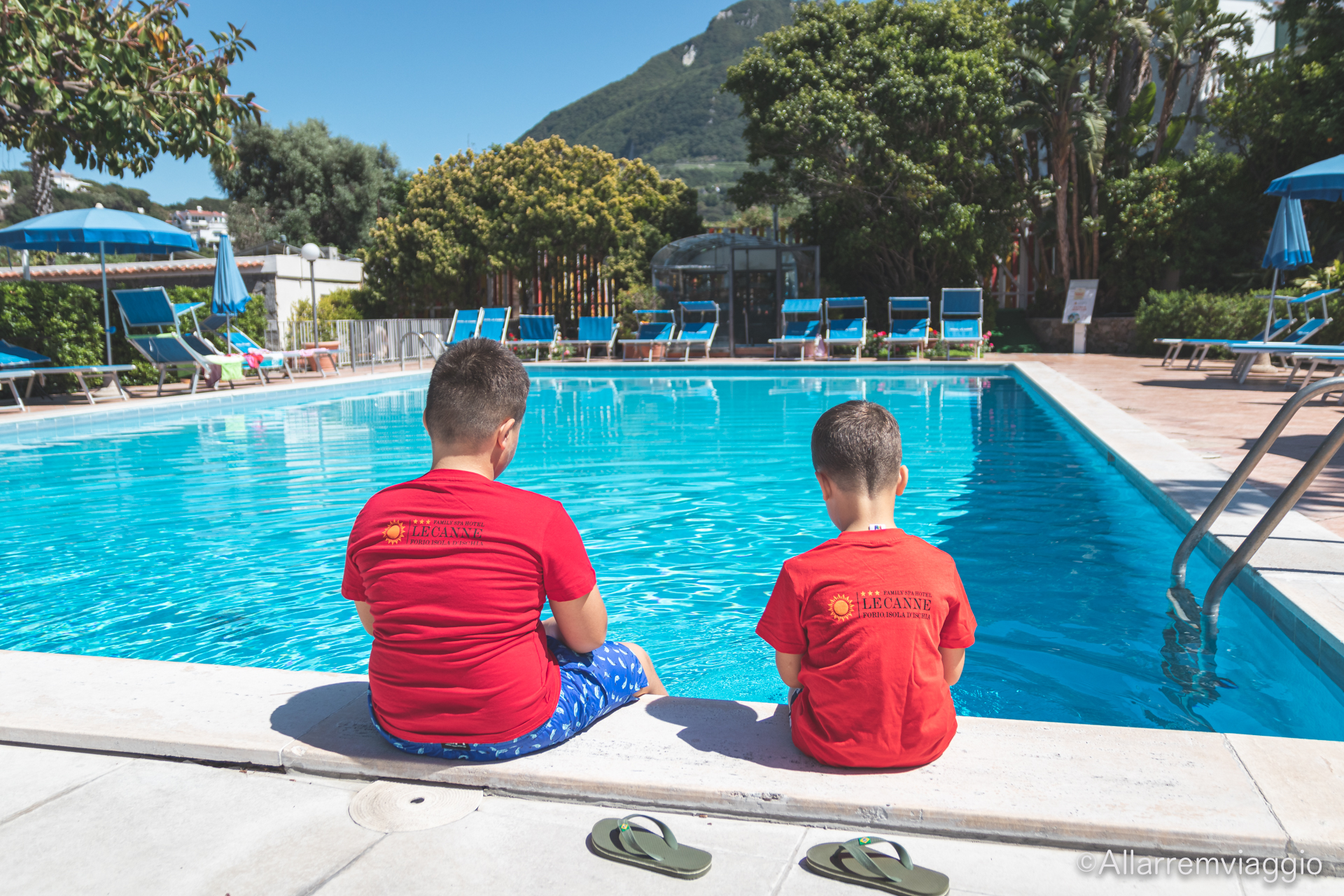 piscina per bambini family spa hotel le canne