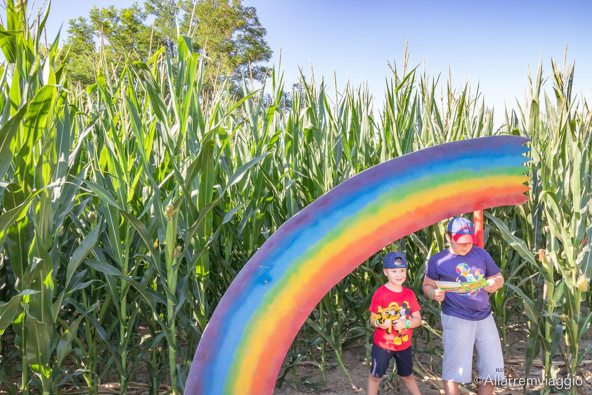 arcobaleno labirinto di Hort