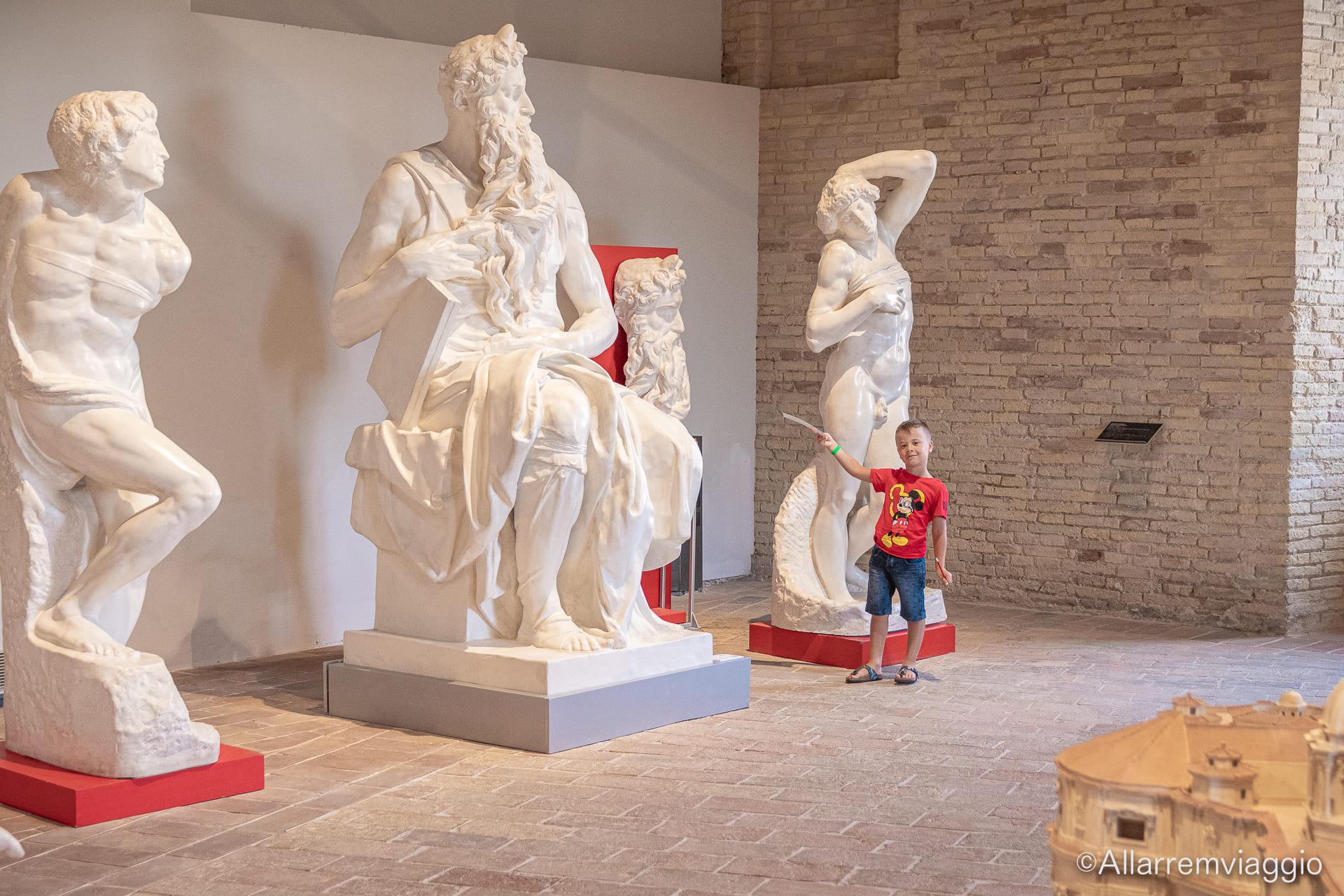 museo tattile statale omero ancona con i bambini