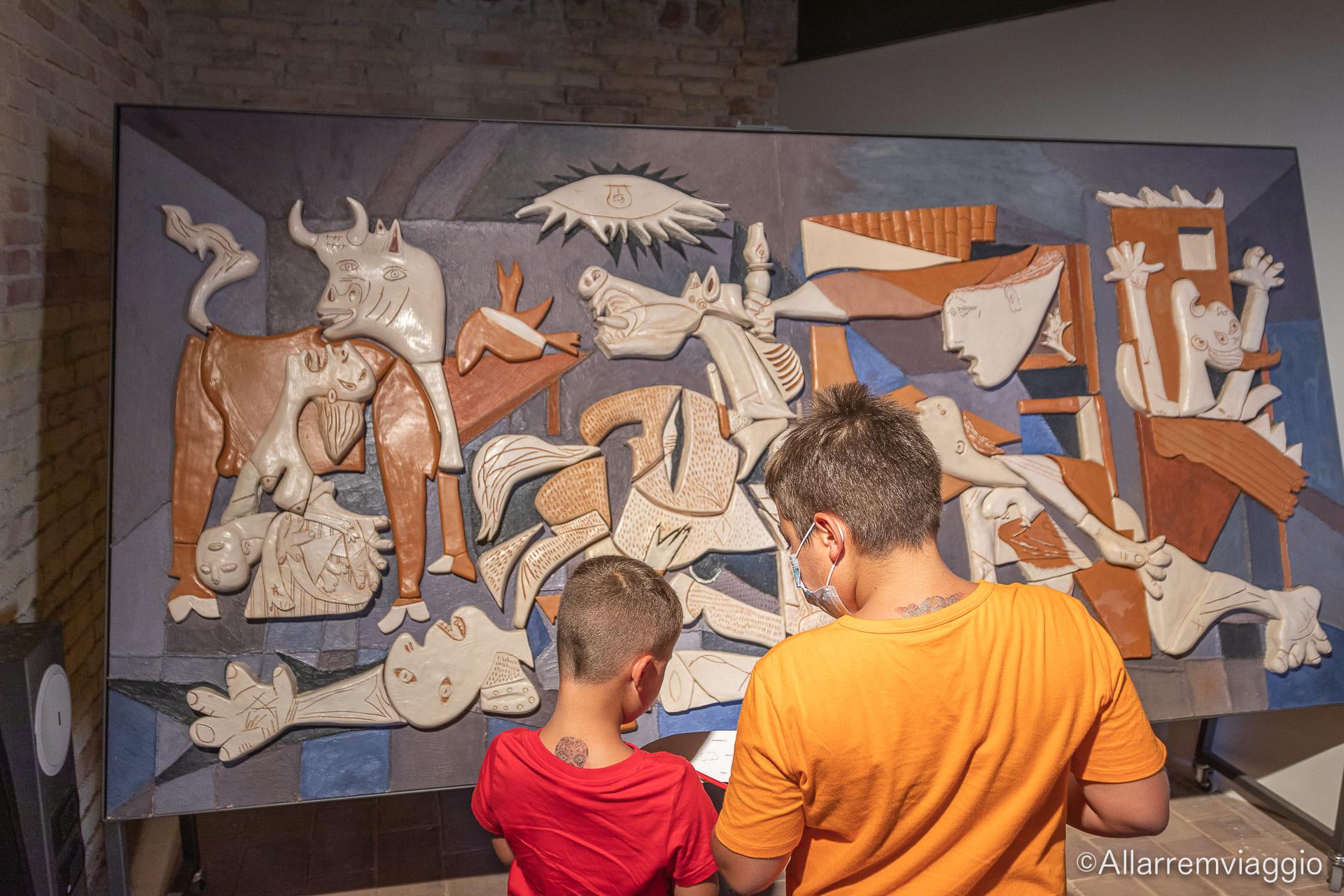 museo tattile ancona picasso guernica