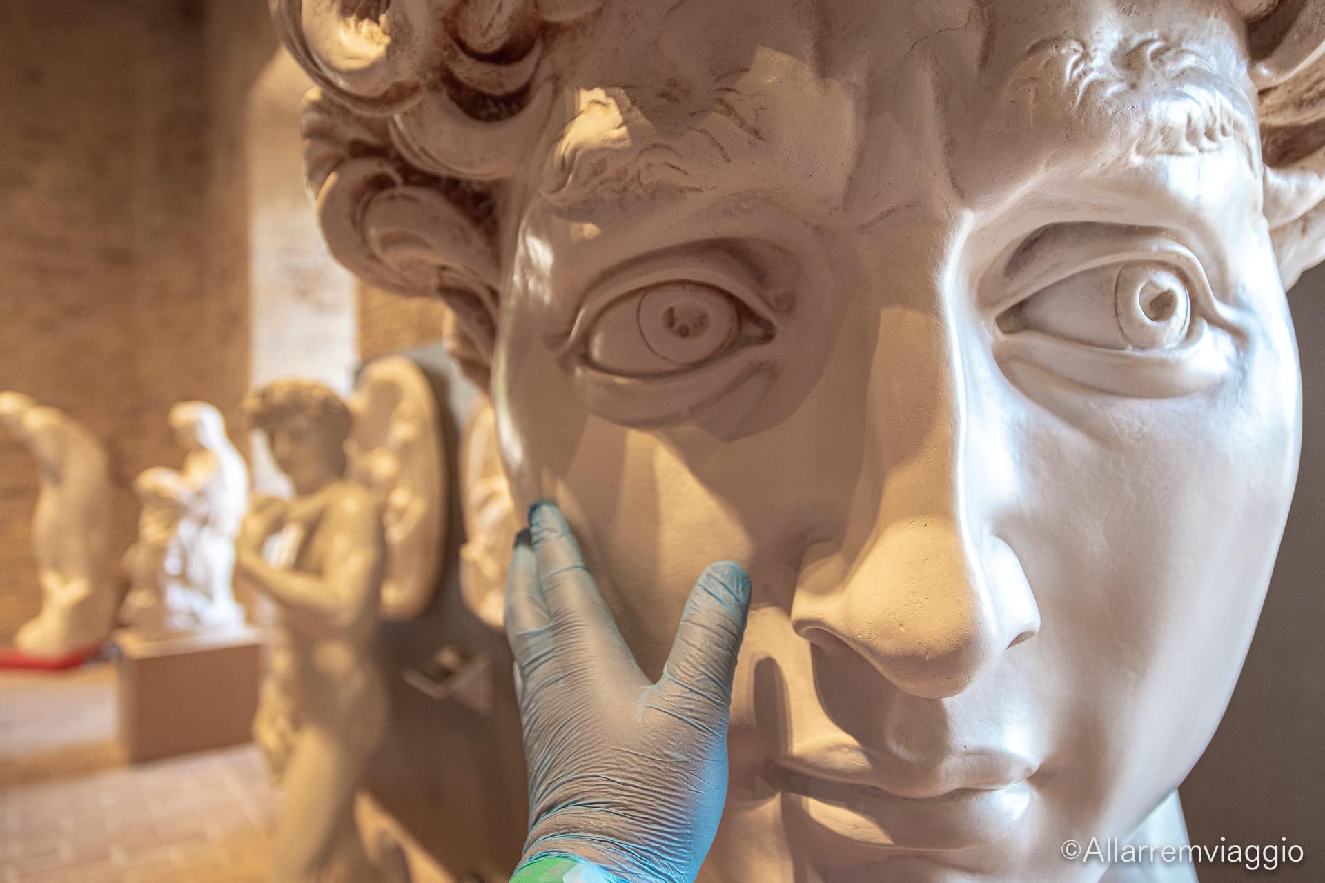 david michelangelo Museo tattile omero ancona