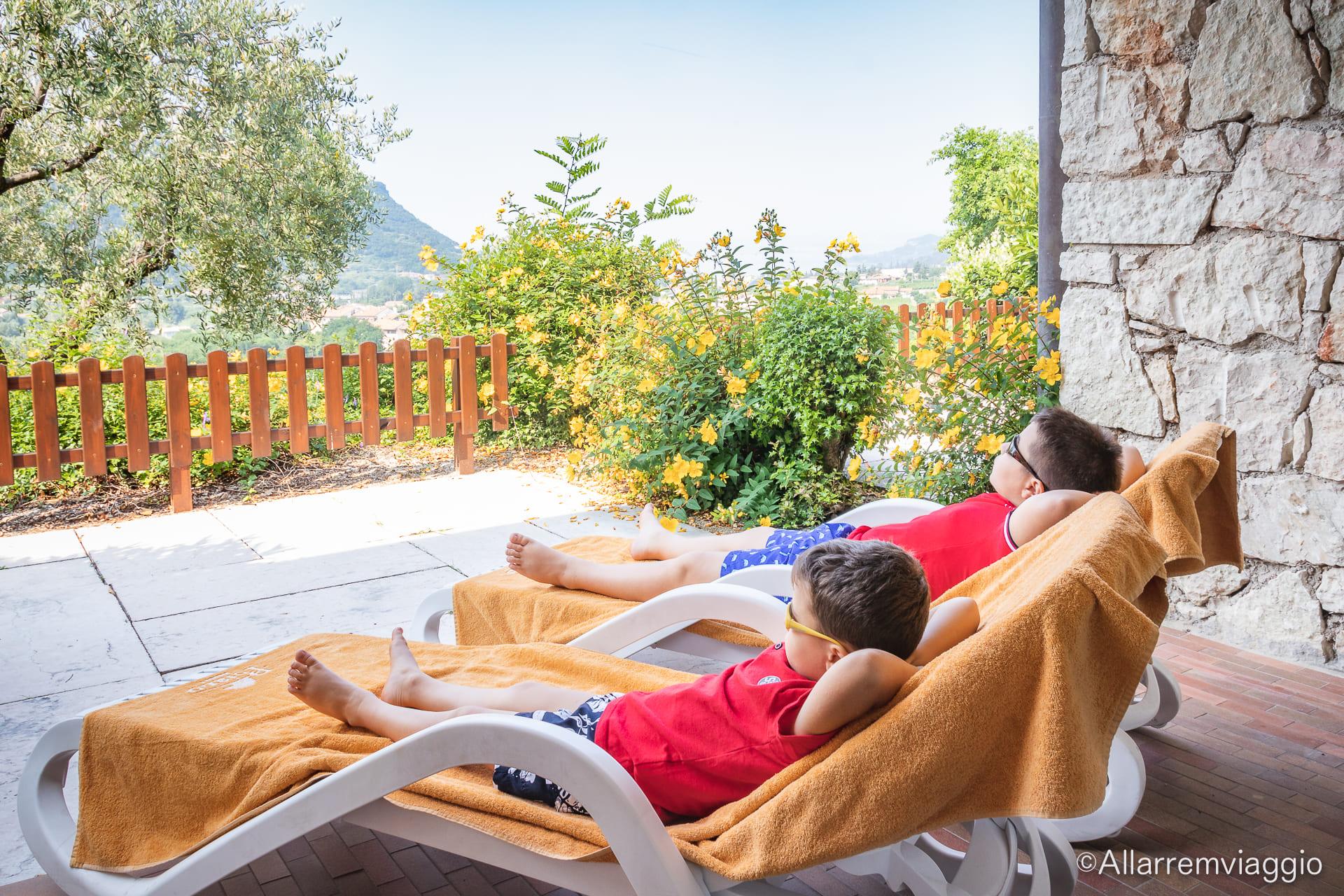 dove dormire sul lago di garda con i bambini