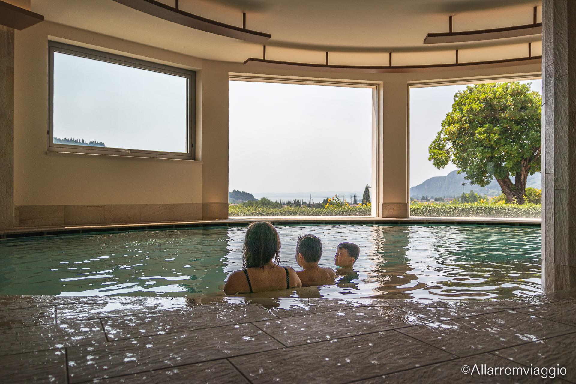spa per bambini al poiano garda resort