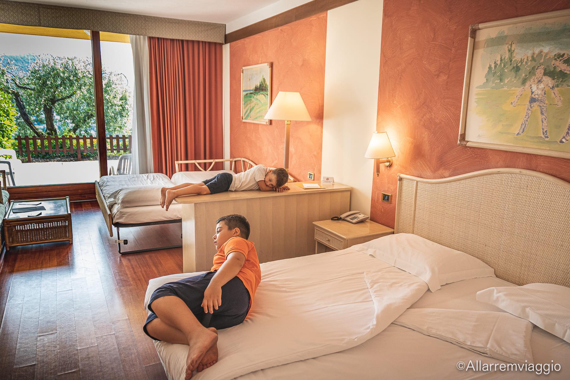junior suite poiano garda resort