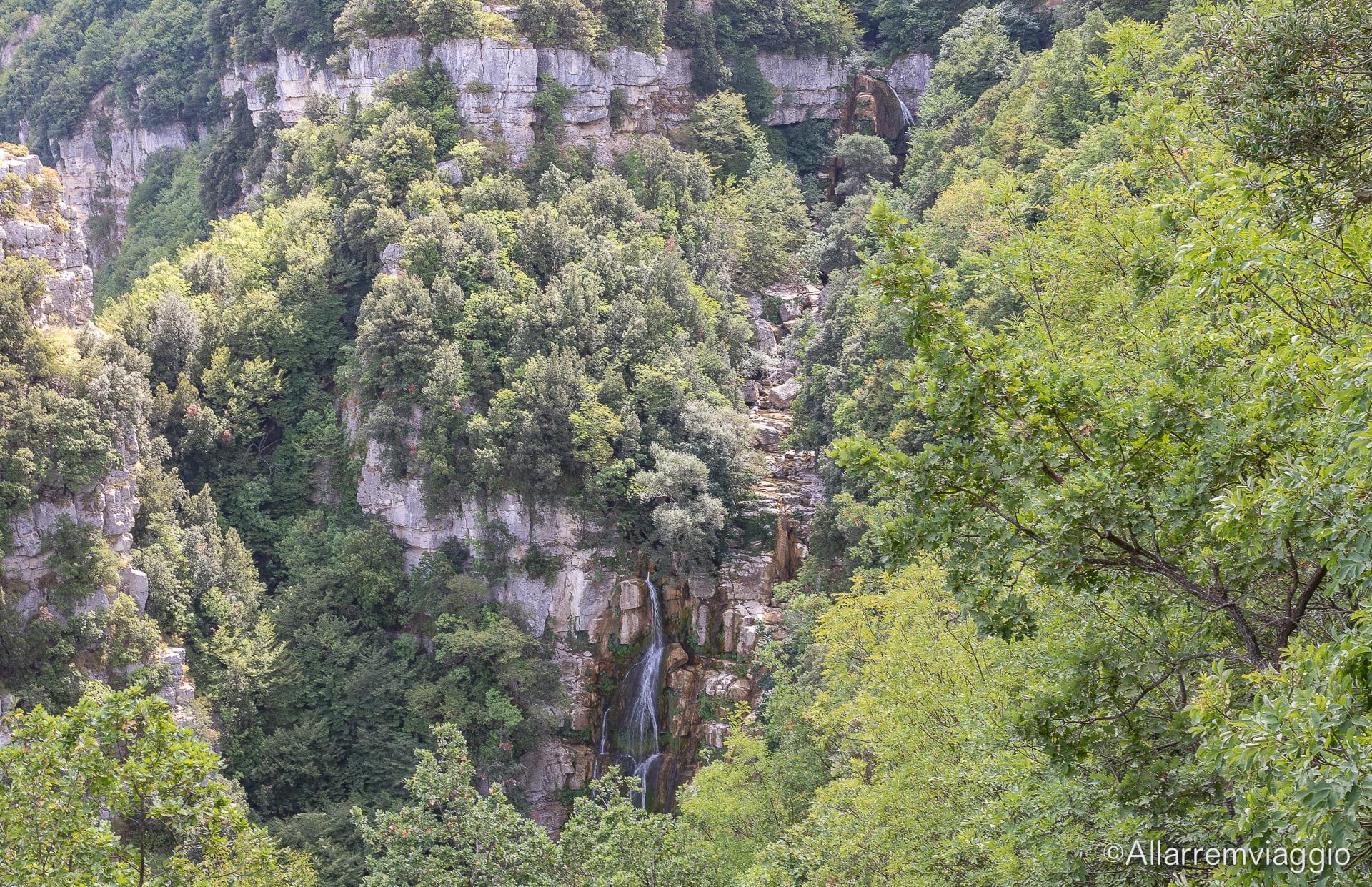 belvedere superiore cascata del verde