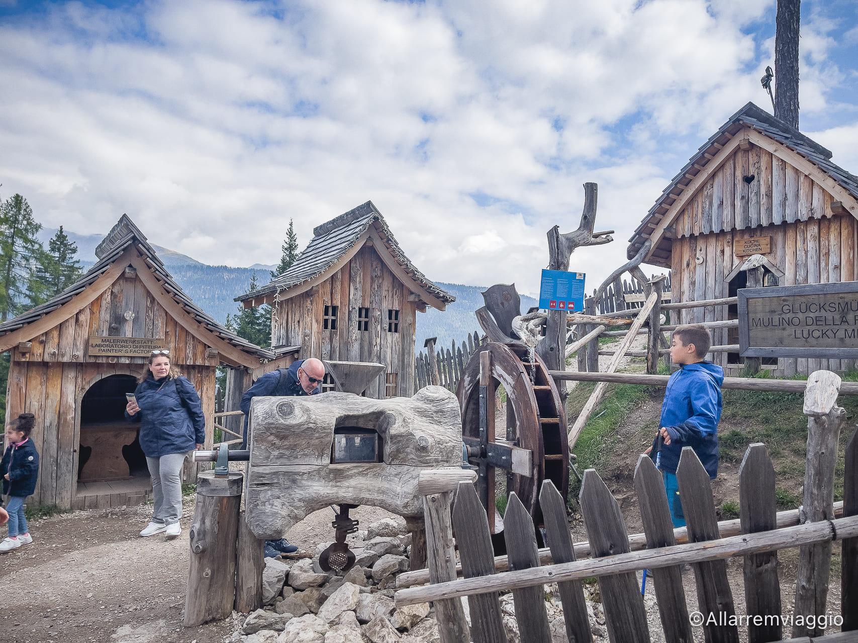 villaggio degli gnomi gigante baranci