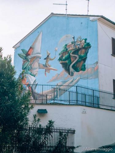 murales pinocchio sant'angelo