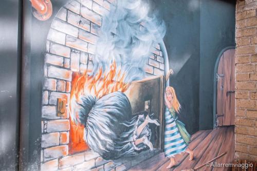 hansel e gretel murales