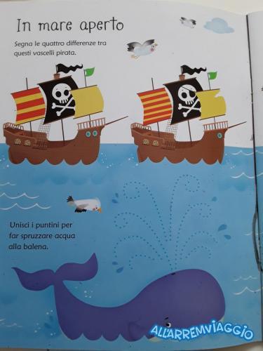 allarremviaggio piratiinviaggio viaggiare pirati bambini giochi giochidaviaggio giochitascabili (20)