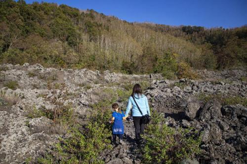 escursione sul vesuvio al fiume di lava