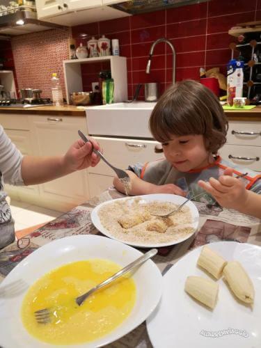 procedimento ricetta banane fritte fiji