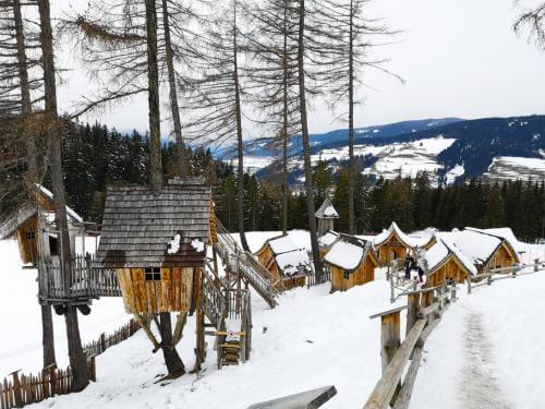villaggio degli-gnomi monte baranci